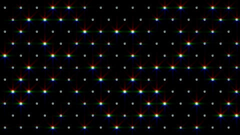 LED Disco Wall FPd1 Stock Video Footage