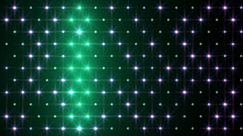 LED Disco Wall FPd5 Stock Video Footage
