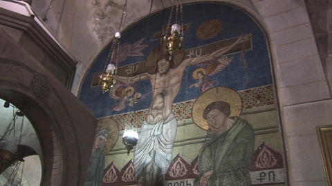 Armenian cross Stock Video Footage