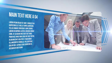 Corporate Video Display After Effects Template