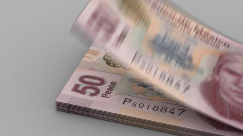 Counting Mexican Pesos Animation