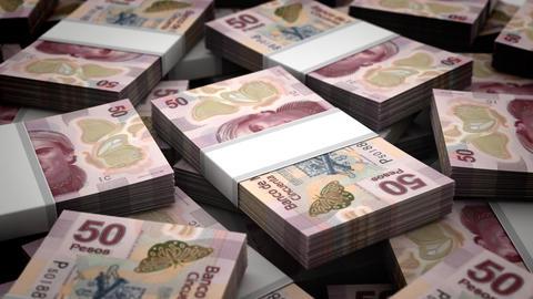 Mexican Pesos Animation