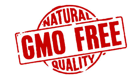Rubber Stamp GMO Free Natural Quality Animation