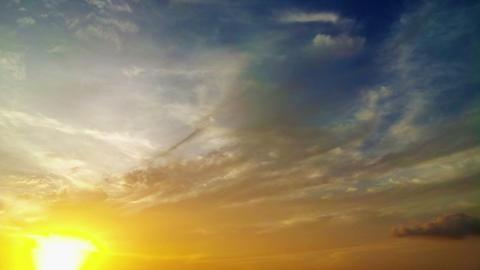1920x1080 video - Beautiful sunset time lapse Footage