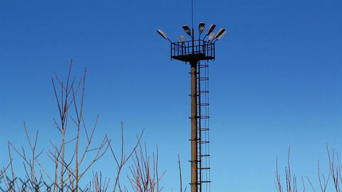 The top view of a prison tower Footage