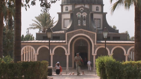 Israel: Church of the Beatitudes Footage