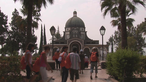 Church of the Beatitudes Footage