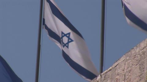 flag of israel 2 Footage