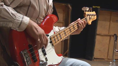 guitare 1 Stock Video Footage