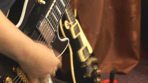 guitare 3 Stock Video Footage