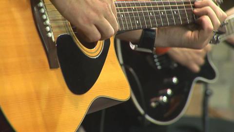 guitare 5 Stock Video Footage