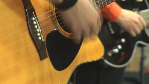 guitare 5 Stock Video Footage