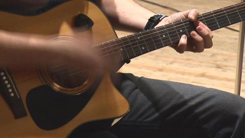 guitare 7 Stock Video Footage