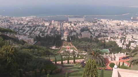 haifa bahai 1 Stock Video Footage