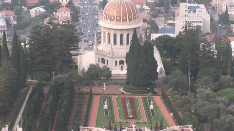 haifa bahai 3 Stock Video Footage