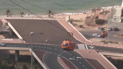 haifa cableway 2 Footage