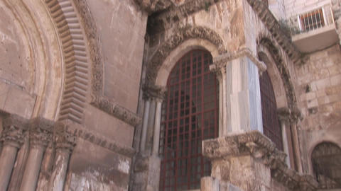 Holy Sepulcher chapel Stock Video Footage