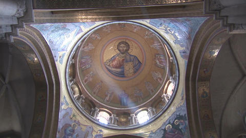 Holy Sepulcher dome 2 Footage