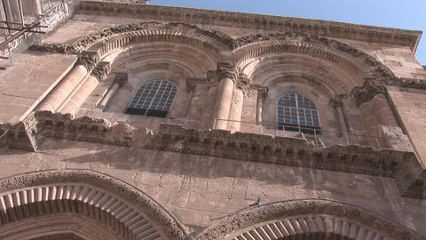 Holy Sepulcher Gate Stock Video Footage