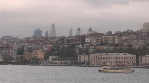 istanbul hill Stock Video Footage