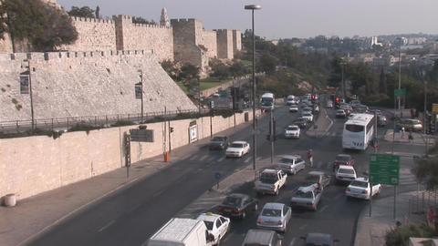 Jerusalem road Footage