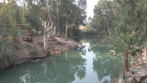 Jordan river Stock Video Footage