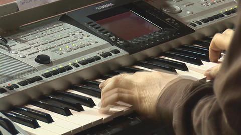 Keyboards Stock Video Footage