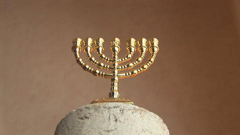 menorah Stock Video Footage