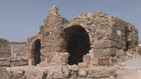 side ruins Stock Video Footage