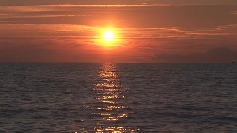 sunset 3 Stock Video Footage