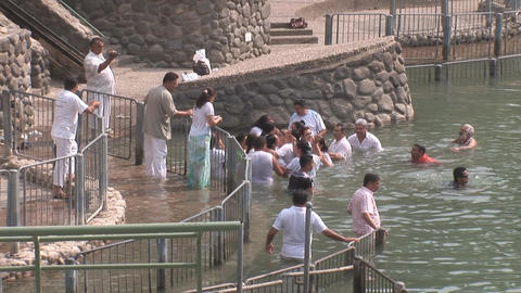 crowd in Jordan Stock Video Footage
