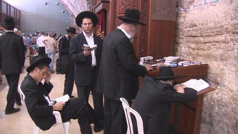 Kotel synagogue Stock Video Footage