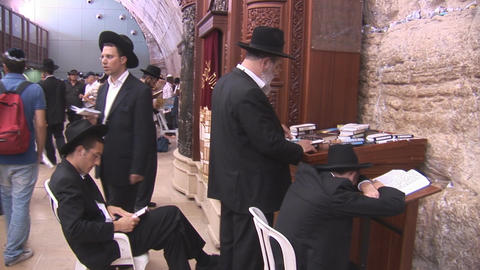 Kotel synagogue Footage