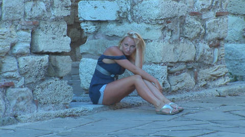Nessebar girl 2 Footage