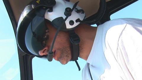 Pilot stock footage