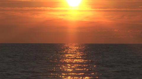 sunset 2 part 2 Stock Video Footage