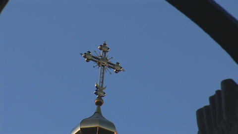 church memorial 3 Stock Video Footage
