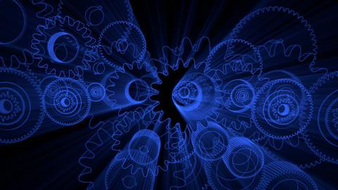 gear glow 03 Animation
