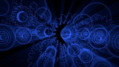 gear glow 03 Stock Video Footage