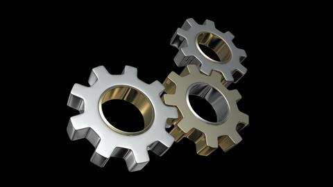 gear system 01 Animation