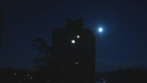 moon 4 Stock Video Footage