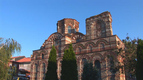 Nessebar church Pantocrator Footage