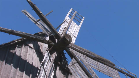windmill 1 Stock Video Footage