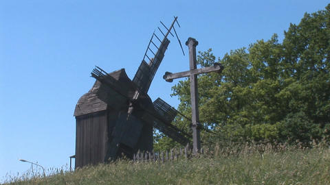 windmill 3 Stock Video Footage