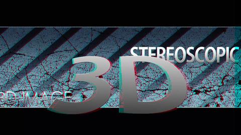 Sterioscopic light Stock Video Footage