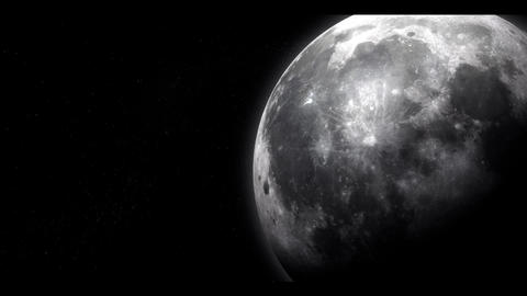 The Moon Stock Video Footage