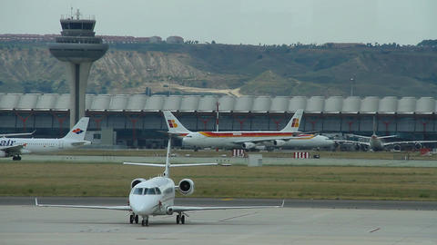 Airport 08 Madrid Barajas Footage