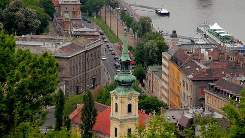 European City View 07 Stock Video Footage