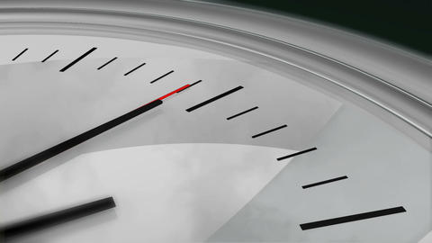 Clock Seconds Ticking HD Stock Video Footage