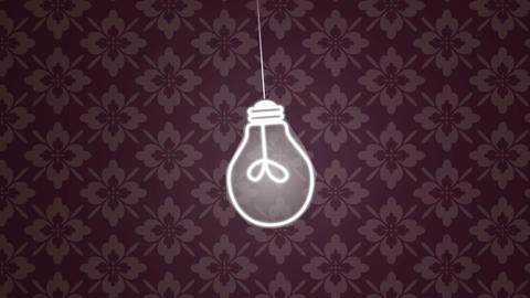 Energy Saving Lights HD Animation